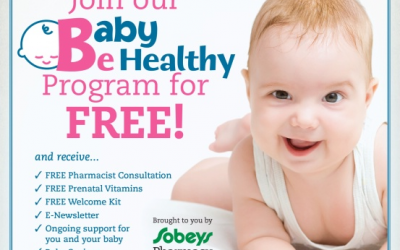 FREEBIE – Sobey's Pharmacy Baby Program – Free Vitamins & more!
