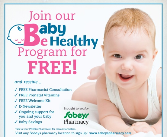 FREEBIE – Sobey's Pharmacy Baby Program – Free Vitamins & more!