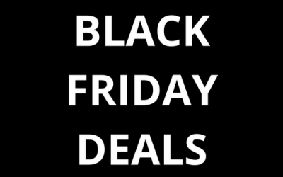 Black Friday Week – Deals, Deals, Deals!