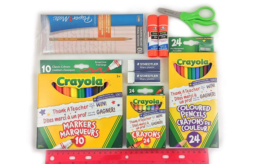 School Supplies – Get it now!