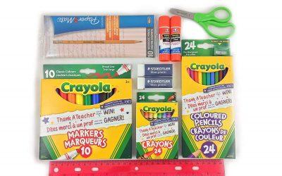 School Supplies – Get it now!